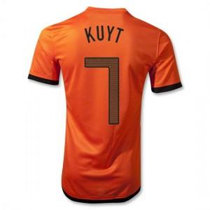 Camiseta de Holanda de la Seleccion 2012/2014 Primera Kuyt