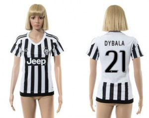 Mujer Camiseta del 21 Juventus 2015/2016