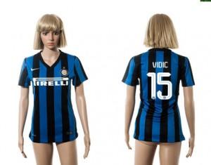Mujer Camiseta del 15 Inter Milan 2015/2016