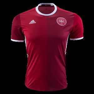 Camiseta Dinamarca Primera Equipacion 2016