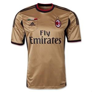 Camiseta nueva del AC Milan 2013/2014 Tailandia Tercera
