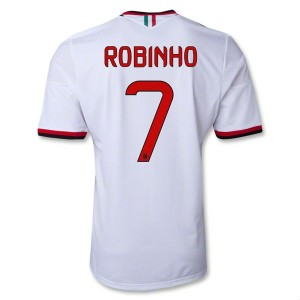 Camiseta nueva AC Milan Robinho Equipacion Segunda 2013/2014