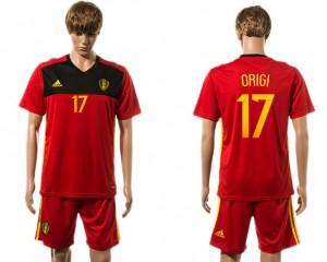 Camiseta nueva Belgium 17# 2015-2016