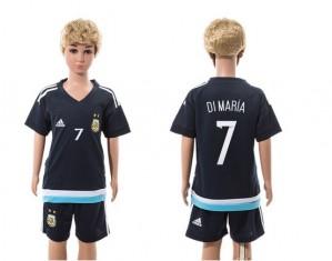 Camiseta nueva del Argentina 2015/2016 7 Ninos