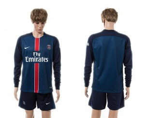 Camiseta nueva del Paris Saint Germain 15/16 Manga Larga Primera