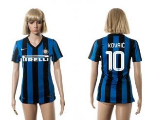 Camiseta Inter Milan 10 2015/2016 Mujer