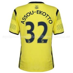 Camiseta nueva Tottenham Hotspur Assou Ekotto Tercera 14/15