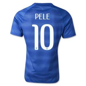 Camiseta nueva del Brasil de la Seleccion WC2014 Pele Segunda