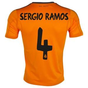 Camiseta nueva Real Madrid Sergio Ramos Tercera 2013/2014