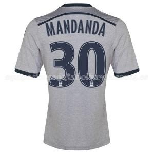 Camiseta de Marseille 2014/2015 Segunda Mandanda