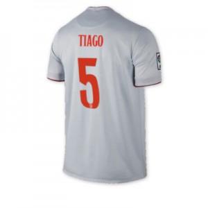 Camiseta Atletico Madrid TIAGO Segunda Equipacion 2014/2015