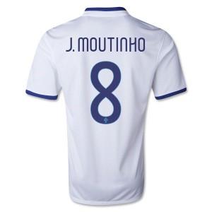 Camiseta nueva del Portugal de la Seleccion 2013/2014 J Moutinho Segunda