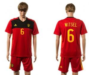 Camiseta de Belgium 2015-2016 6#