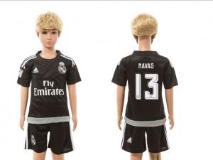 Camiseta Real Madrid goalkeeper 13 2015/2016 Ninos