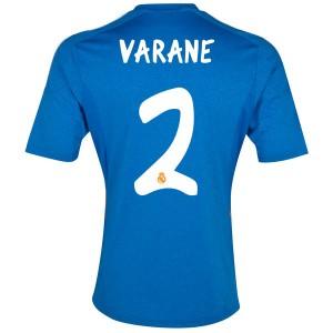 Camiseta del Varane Real Madrid Segunda Equipacion 2013/2014