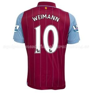Camiseta nueva Aston Villa Weimann Equipacion Primera 2014/15