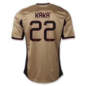 Camiseta nueva del AC Milan 2013/2014 Equipacion Kaka Tercera