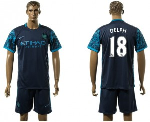 Camiseta del 18# Manchester City Away