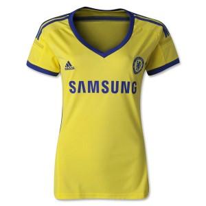 Mujer Camiseta del Chelsea Segunda Equipacion 14/15