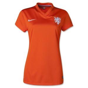 Camiseta del Holanda de la Seleccion Primera 2014