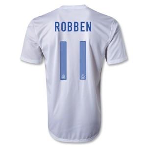 Camiseta Holanda Robben Segunda 2013/2014