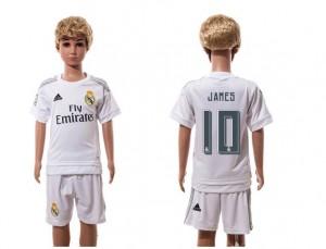 Ninos Camiseta del 10 Real Madrid Home 2015/2016