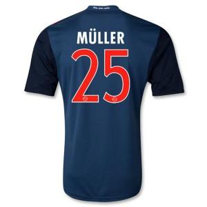 Camiseta del Muller Bayern Munich Segunda Equipacion 2013/2014