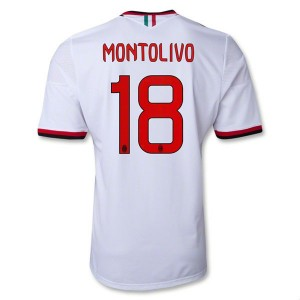 Camiseta AC Milan Montolivo Segunda Equipacion 2013/2014