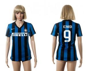 Camiseta Inter Milan 9 2015/2016 Mujer