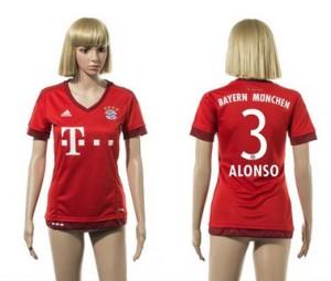 Camiseta nueva del Bayern Munich 2015/2016 3 Mujer