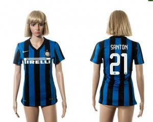 Mujer Camiseta del 21 Inter Milan 2015/2016