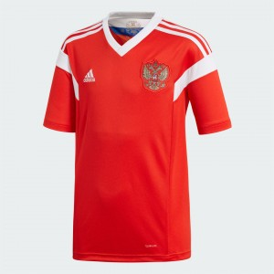 Camiseta nueva RUSSIA Juventud Home 2018
