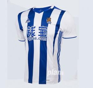 Camiseta Real Sociedad Primera 2016/2017