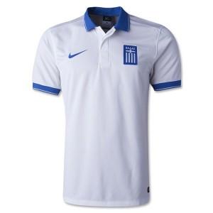 Camiseta de Grecia de la Seleccion 2014 Primera