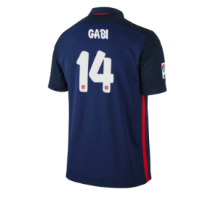 Camiseta Atletico Madrid GABI Segunda Equipacion 2015/2016