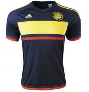 Camiseta Colombia Segunda Tailandia 15/16