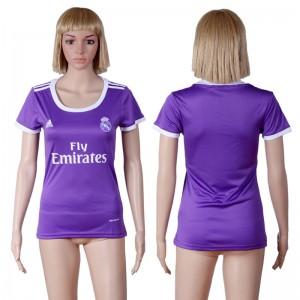 Camiseta nueva del Real Madrid 2016/2017 Equipacion Mujer Segunda