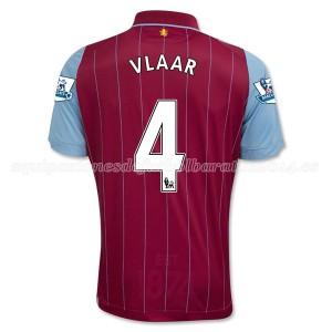 Camiseta nueva Aston Villa Vlaar Equipacion Primera 2014/15