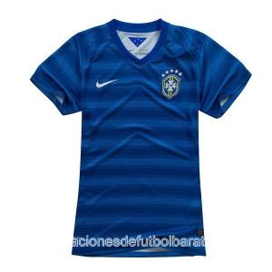 Camiseta nueva Brasil de la Seleccion Mujer Segunda WC2014