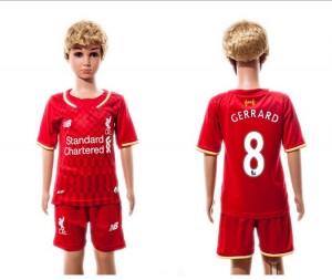 Camiseta nueva del Liverpool 2015/2016 8 Ninos