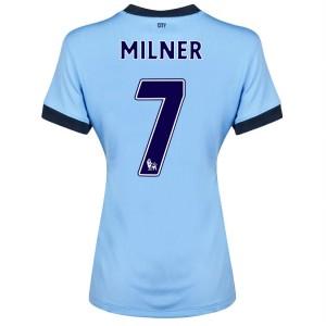 Camiseta nueva del Manchester City 2013/2014 Dzeko Segunda