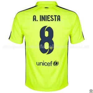 Camiseta del A.Iniesta Barcelona Tercera 2014/2015