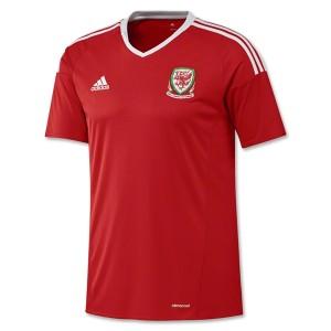 Camiseta Gales 2016/2017