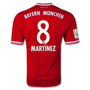 Camiseta del Martinez Bayern Munich Primera 2013/2014
