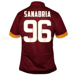 Camiseta nueva AS Roma Sanabria Equipacion Primera 2014/2015