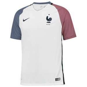 Camiseta nueva del Francia 2016 Equipacion Segunda