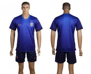 Camiseta nueva del Holanda de la Seleccion WC2014 Segunda