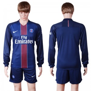 Camiseta Paris Saint Germain Primera Manga Larga 2016/2017