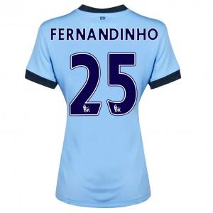 Camiseta nueva Manchester City Fernando.R Segunda 2014/2015