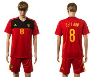 Camiseta del 8# Belgium 2015-2016